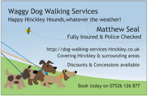 Dog walker leicestershire barwell burbage daddlington higham on the waggy dog walking services hinckley colourmoves